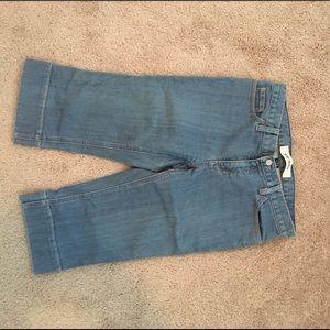 Crop GAP jeans size 6
